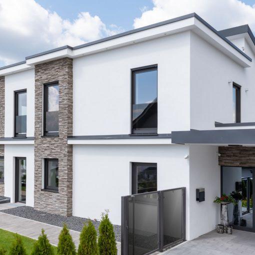 Image of a modern home with Custom Made Triple Glazed Doors & Windows